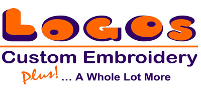 Logos Custom Embroidery Plus! ... A Whole Lot More